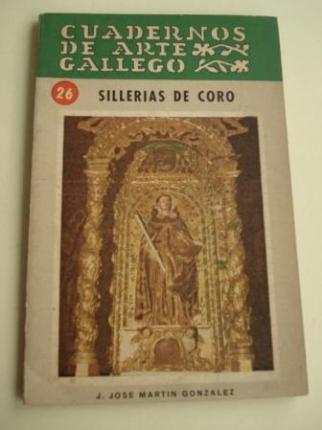 CUADERNOS DE ARTE GALLEGO, Nº 26  Sillerías del coro - Ver os detalles do produto