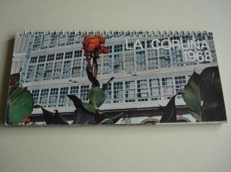 La Coruña 1968. Calendario. 12 postales en color - Ver os detalles do produto