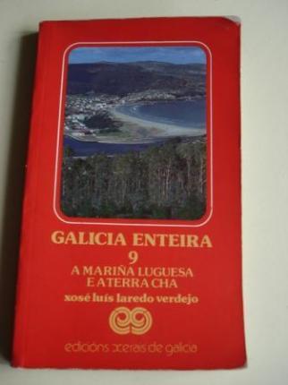 Galicia enteira. Volume 9. A Mariña luguesa e a Terra Chá. Primeira edición (1986) - Ver os detalles do produto