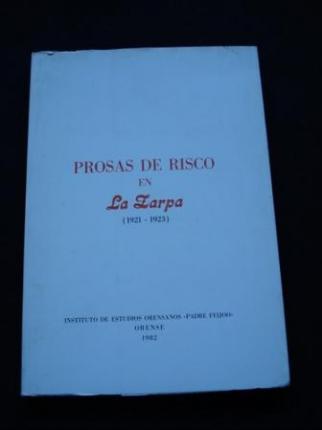 Prosas de Risco en La Zarpa (1921-1923) (En galego) - Ver os detalles do produto