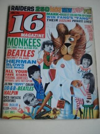 REVISTA 16 MAGAZINE. ENERO 1967 - Ver os detalles do produto