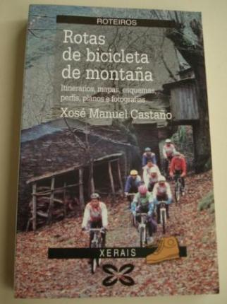 Rotas de bicicleta de montaña. Itinerarios, mapas, esquemas, perfís, planos e fotografías - Ver os detalles do produto