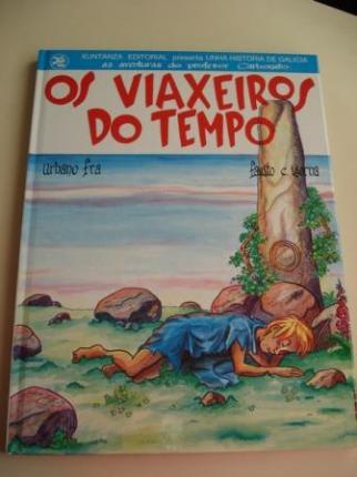 Os viaxeiros do tempo. Número 1. Unha Historia de Galicia, as aventuras do profesor Carbonato - Ver os detalles do produto