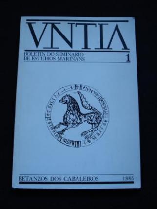 UNTIA. Boletín do Seminario de Estudios Mariñáns. núm 1 - Ver os detalles do produto