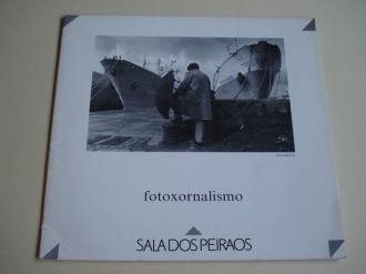 Fotoxornalismo. Catálogo Exposición Sala dos Peiraos, Vigo, 1990 - Ver os detalles do produto