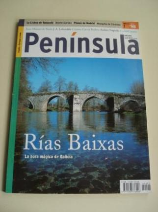 Revista PENÍNSULA. NÚMERO 1 - ABRIL, 1998. RÍAS BAIXAS. LA HORA MÁGICA DE GALICIA - Ver os detalles do produto