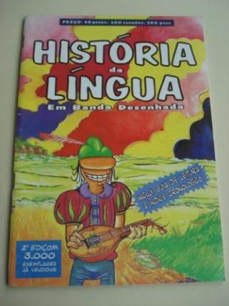 História da língua galega em banda desenhada. Inclui Guía de leitura e índice cronológico - Ver os detalles do produto