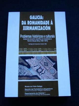 Galicia: Da romanidade á xermanización. Problemas históricos e culturais - Ver os detalles do produto