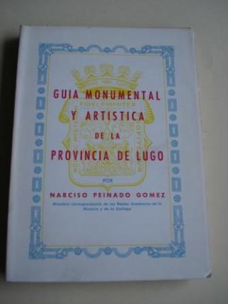 Guía monumental y artística de la provincia de Lugo - Ver os detalles do produto
