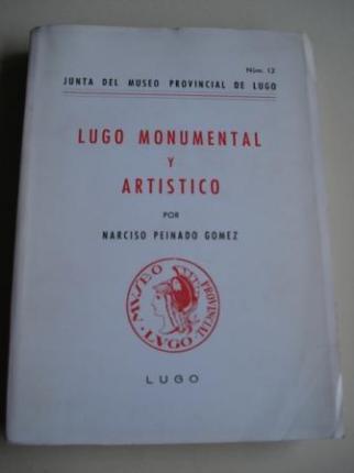 Lugo monumental y artístico - Nº 12 - Ver os detalles do produto