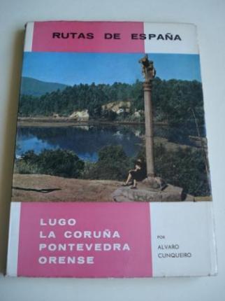 Rutas de España. Ruta nº 12. Lugo - La Coruña - Pontevedra - Orense - Ver os detalles do produto