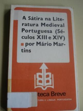 A Sátira na Literatura Medieval Portuguesa (Séculos XIII e XIV) - Ver os detalles do produto