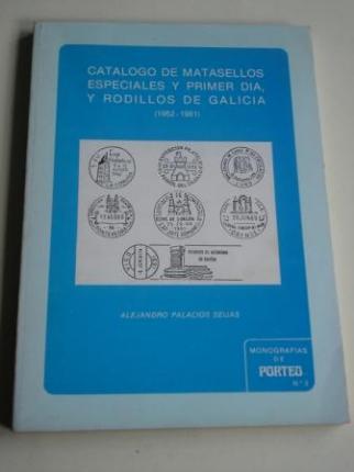 Catálogo de matasellos especiales y primer día, y rodillos de Galicia (1952-1981) - Ver os detalles do produto