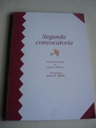 Segunda convocatoria (Texto en español). Folletín de Navidad - Ver os detalles do produto