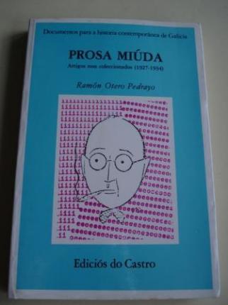 Prosa miúda. Artigos non coleccionados (1927-1934). Edición de Autora Marco - Ver os detalles do produto