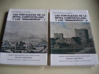 Las fortalezas de la Mitra Compostelana y los Irmandiños. 2 tomos - Ver os detalles do produto