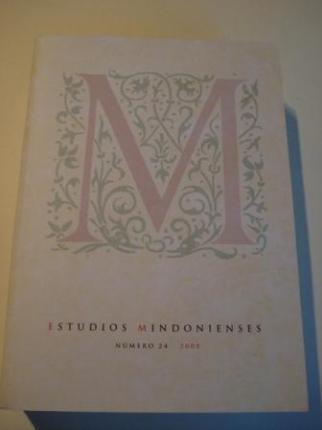 ESTUDIOS MINDONIENSES. NÚMERO 24 - 2008 - Anuario de Estudios Histórico-Teológicos de la Diócesis de Mondoñedo-Ferrol - Ver os detalles do produto