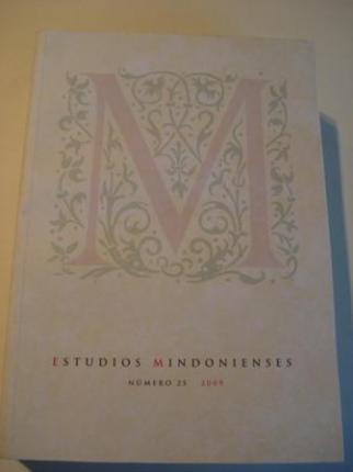 ESTUDIOS MINDONIENSES. NÚMERO 25 - 2009 - Anuario de Estudios Histórico-Teológicos de la Diócesis de Mondoñedo-Ferrol - Ver os detalles do produto