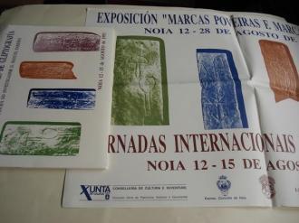 Actas das Xornadas Internacionais de Gliptografía. Libro + carpetas dos asistentes + cartel - Ver os detalles do produto