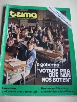 TEIMA. Revista Galega de Información Xeral. Número 1. 16 ao 23 decembro de 1976 - Ver os detalles do produto