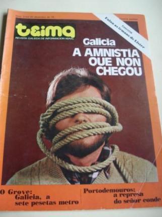 TEIMA. Revista Galega de Información Xeral. Número 2. Do 23 ao 30 decembro de 1976 - Ver os detalles do produto