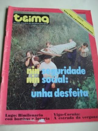 TEIMA. Revista Galega de Información Xeral. Número 5. Do 13 ao 20 xaneiro de 1977 - Ver os detalles do produto